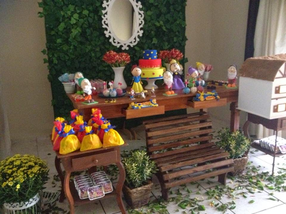 decoracao festa infantil tema branca de neve: Infantil Campinas: DECORAÇÃO EM RUSTICO TEMA BRANCA DE NEVE