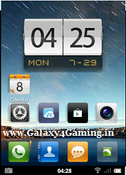 MIUI V3 Custom Rom for Galaxy Y GT-S5360.