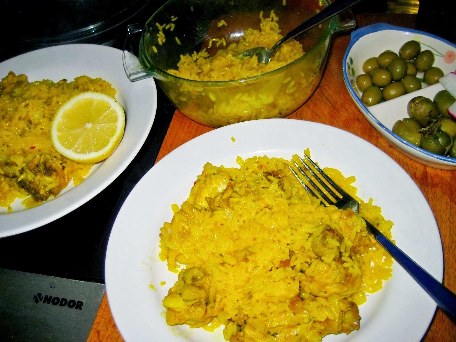 La cocina facil para novatos de mam rosa arroz con pollo en microondas - Cocina para novatos ...