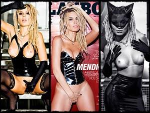 Mendigata Pelada Na Revista Playboy