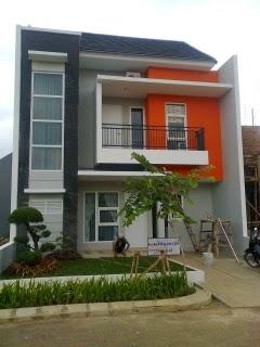 cat exterior rumah minimalis