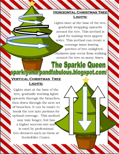 How to Hang Your Christmas Tree Lights - How To Hang Your Christmas Tree Lights - A Sparkly Life For Me