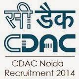 CDAC Noida Recruitment 2014