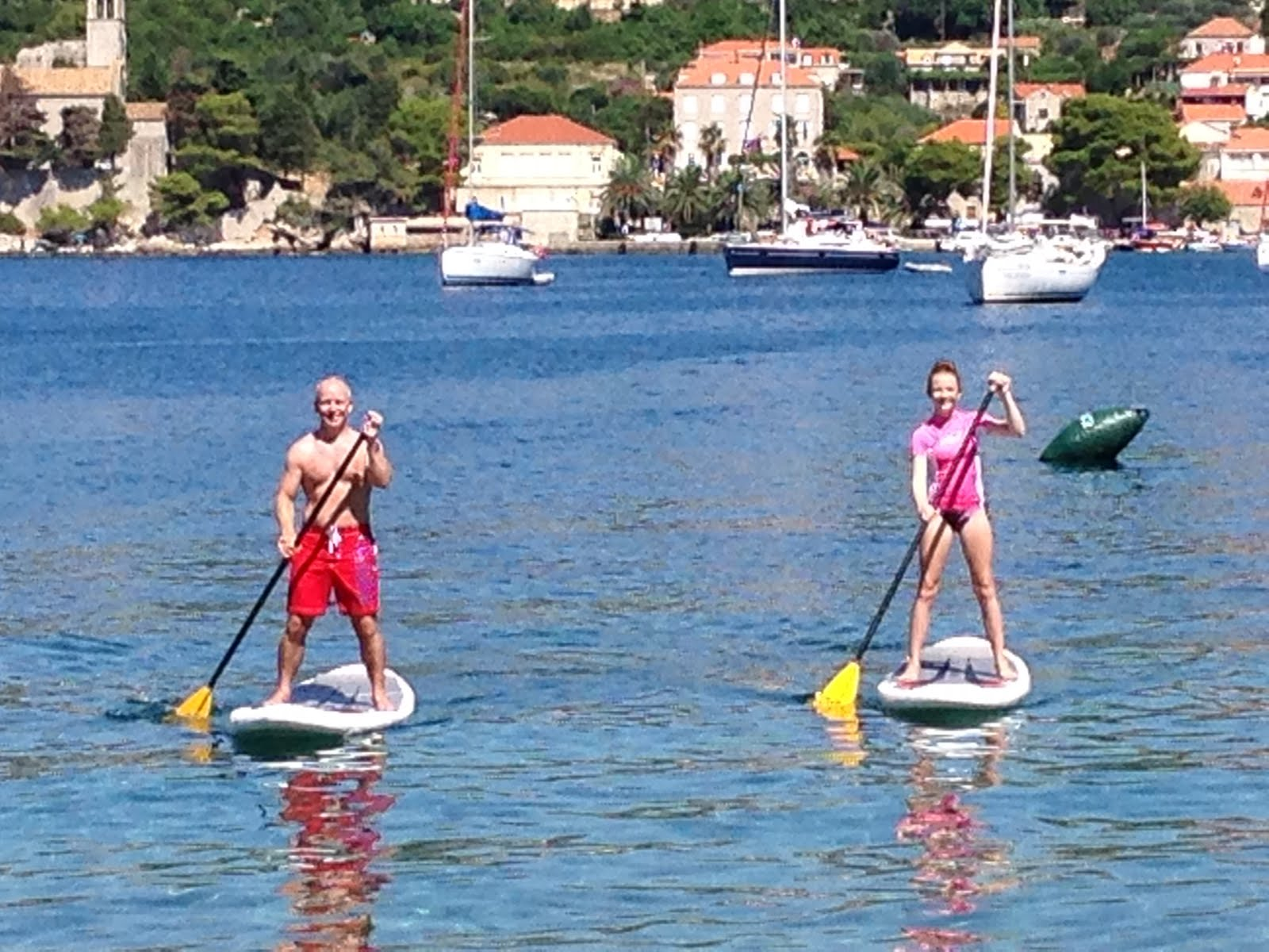 Paddle Boarding in Croatia