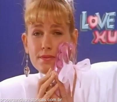Propaganda absurda das sandálias Love Xu - Xuxa e crianças - Anos 90