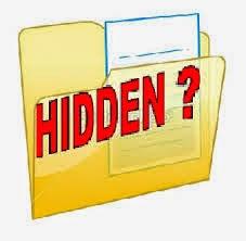 Cara Menampilkan File yang terhidden atau Tersembunyi Di Windows