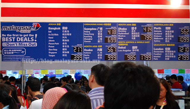 Many travel companies offering Malaysia Airlines Cheap Ticket Sale for Matta Fair 2013