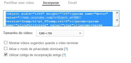 Inserir vídeo do YouTube no PowerPoint