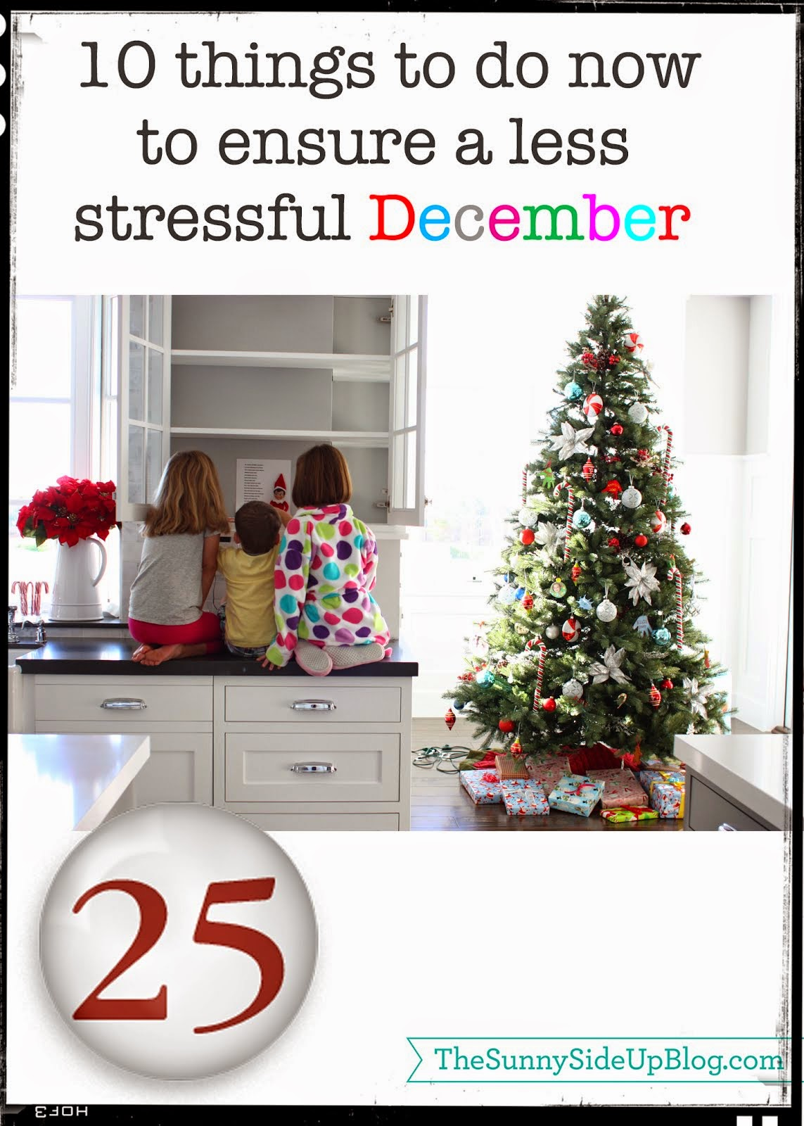 Tips to ensure a less stressful December