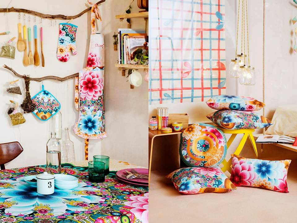 Lookbook primavera ver o da desigual 2015 decora o e - Desigual home decor ...