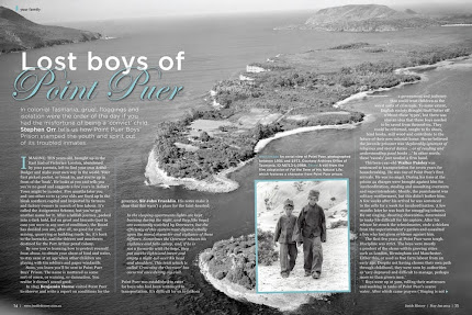 Issue 22 :: Lost Convict Boys of Point Puer