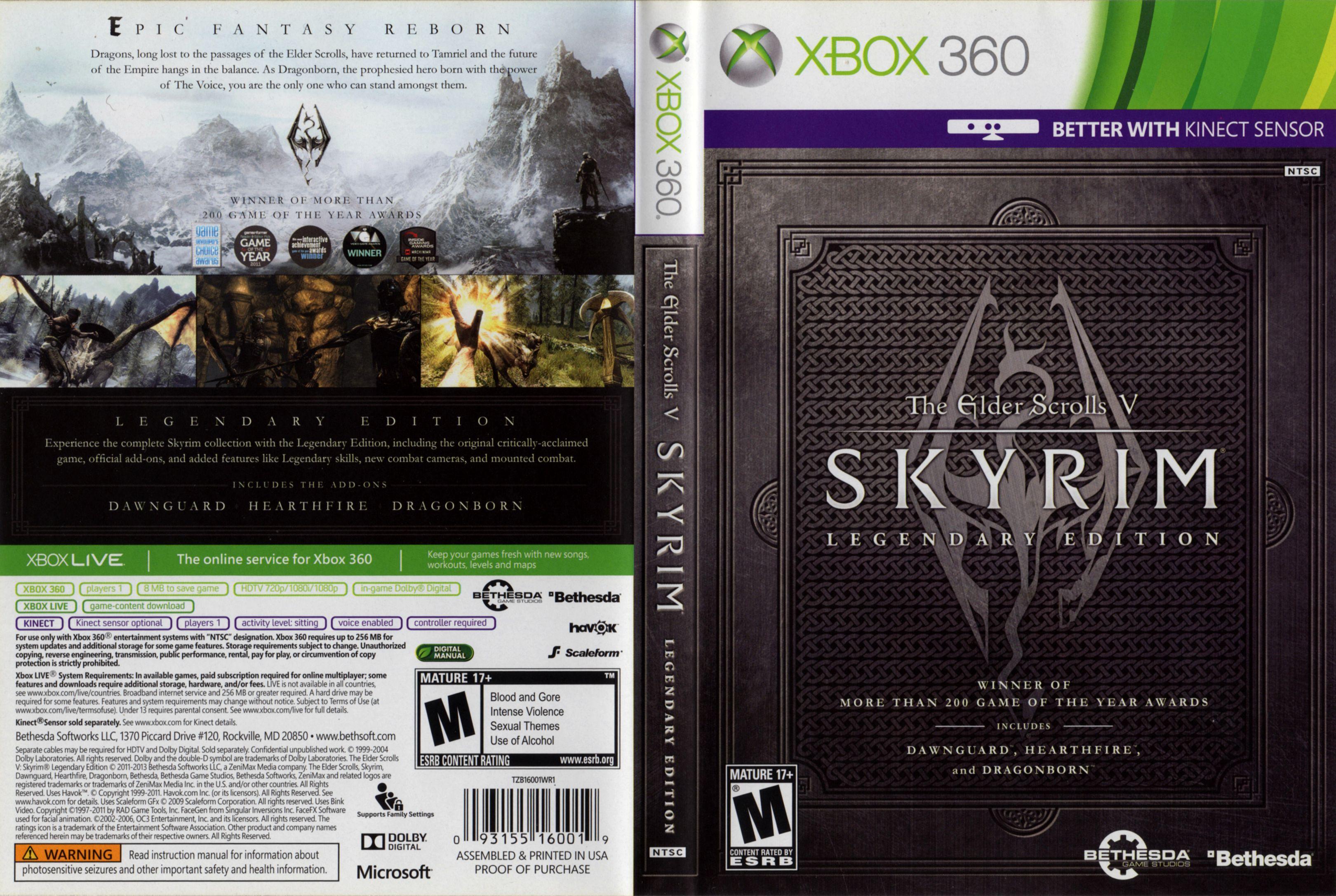 How Many Discs Is Skyrim Legendary Edition Worth