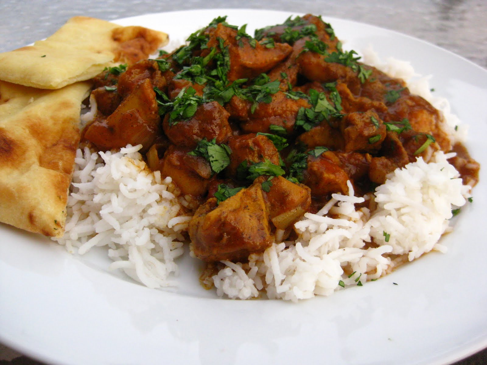 South indian chicken curry