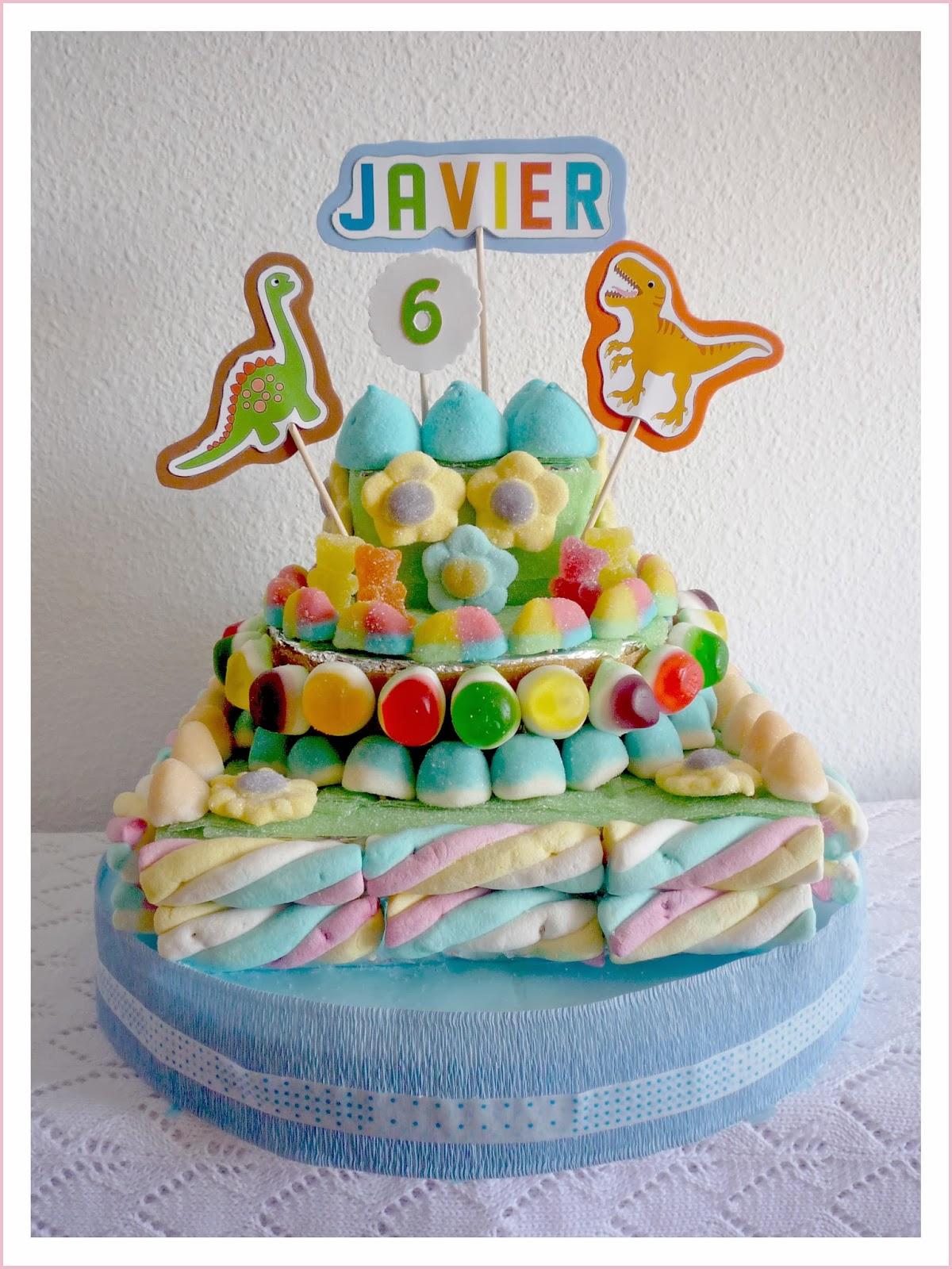 Baby nina fiestas tartas de chuches dinosaurios para - Tartas de chuches fotos ...
