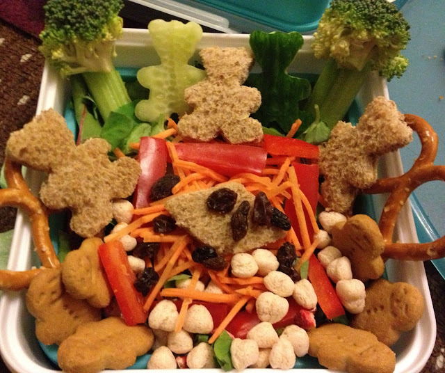 Bento Box Teddy Bears Picnic packed lunch