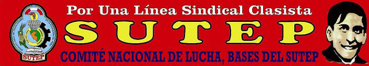 SUTEP COMITE NACIONAL DE LUCHA 2015