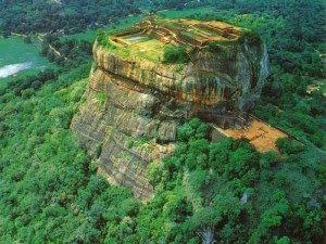 7 wonders of the world Sigiriya in Sri Lanka