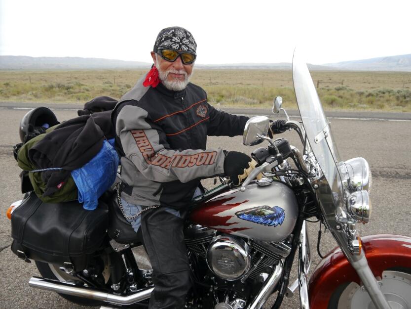 Hispanic Harley