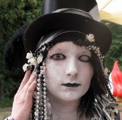 Weirdest And Gothic Costume Festival  Seen On www.coolpicturegallery.us
