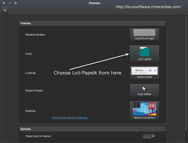 loli papelk flat icon theme install instruction