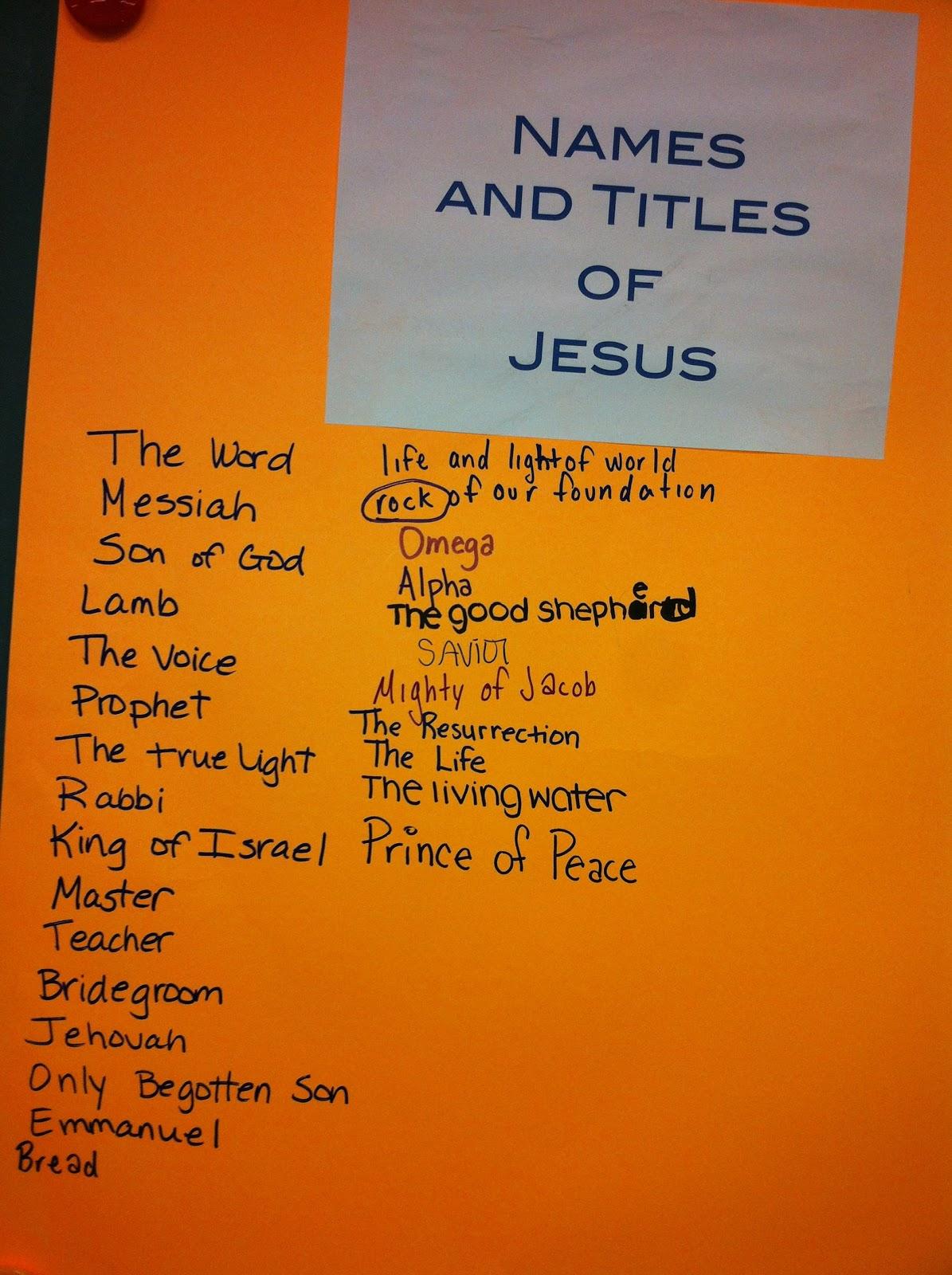 profile essay titles about jesus