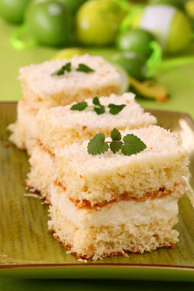 Coconut Cream Cake   Sweet Foodz