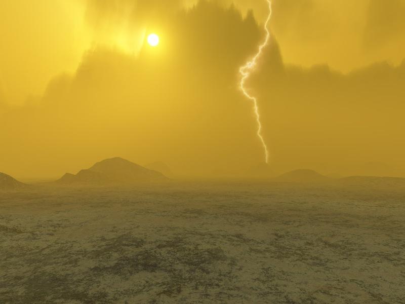 Атмосфера Венеры чрезвычайно враждебна