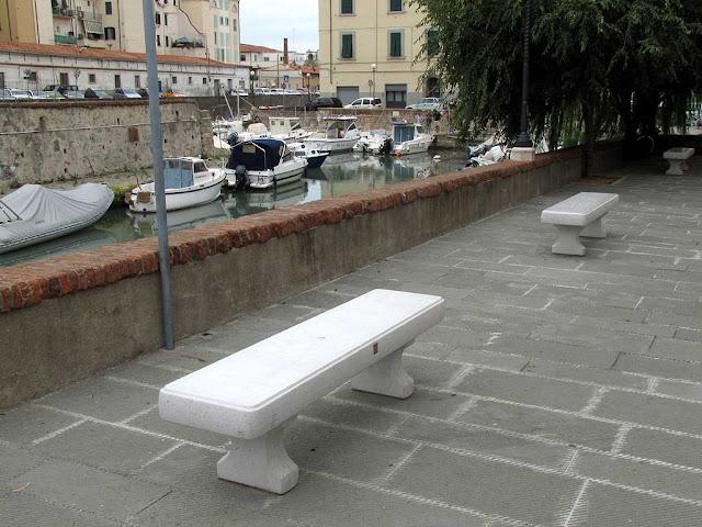 Benches, scali San Lorenzo, Livorno