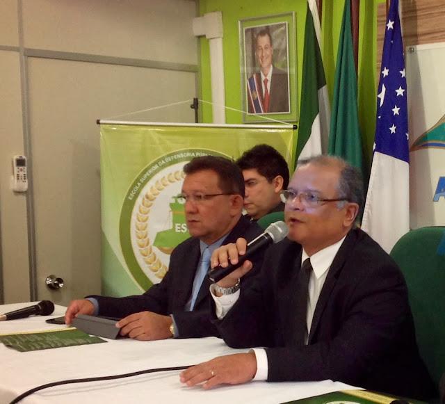 Defensores públicos são recebidos com palestras no Curso de Preparação à Carreira