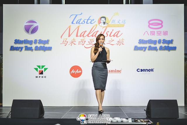Belinda Chee, TV host for Bella ntv7 was the emcee