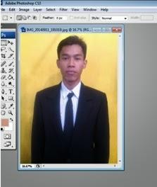 cara ganti background photoshop