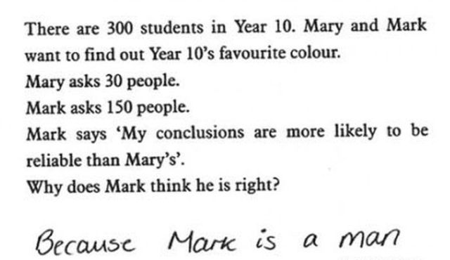 Hilarious Answers By Kids in Exams
