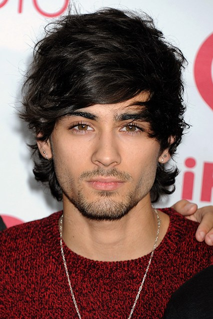 Zayn Malik Long Hairstyles Collection Fashion