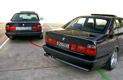 Modifications BMW 525i E34 1993