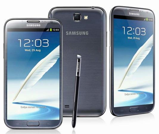 Harga handphone Samsung Galaxy Note II N7100
