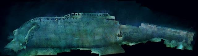 Imágenes inéditas del Titanic a un siglo de su hundimiento tomadas por National Geografic