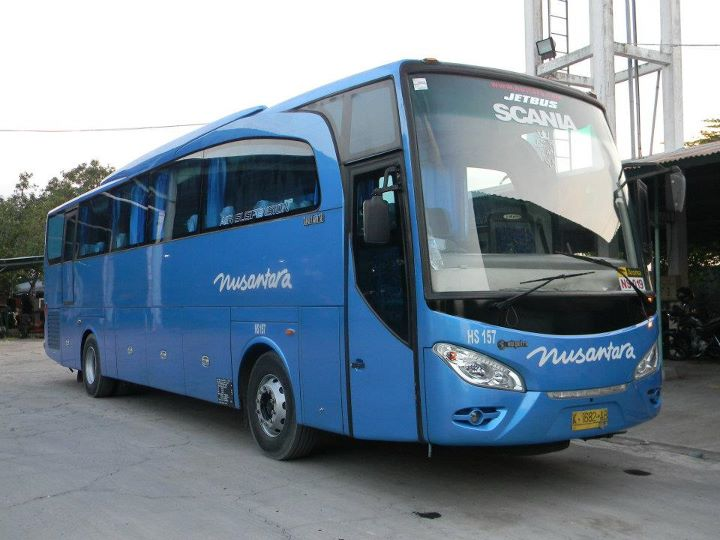 PO Nusantara - New Travego/Jetbus by Adi Putro | Scania Bus