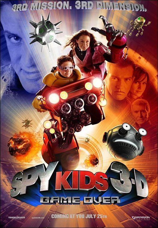 Spy kids 3D: Game over (Mini espías 3: Fin del juego) (2003) Español Latino