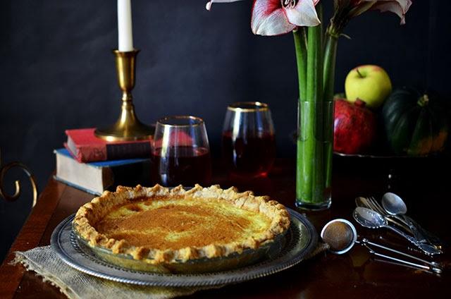 Heart of Gold: Cinnamon Custard Pie