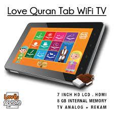 Cyrus Love Quran Tab 3G TV, Tablet Android Dengan Konten Islami