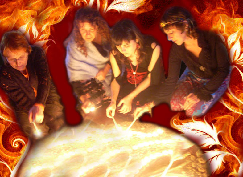 Arboleda de Gaia - El Fuego de las Mujeres