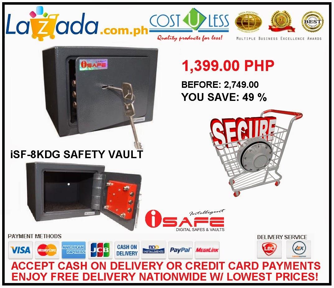 Safe Vault Philippines Isf-8kdg Safe Vault For p1
