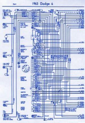 1963 Dodge Dart Electrical Wiring Diagram Auto Wiring Diagrams