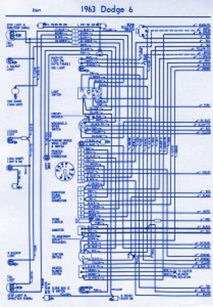 1963 dodge dart electrical wiring diagram | auto wiring diagrams, Wiring diagram