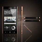 This luxury phone as he envision a RIM phone with Windows Phone 8 mobile .