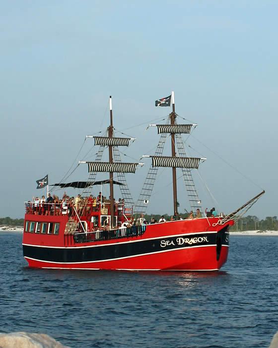 Families Love The Sea Dragon Pirate Cruise TripShock - Pirate ship cruise