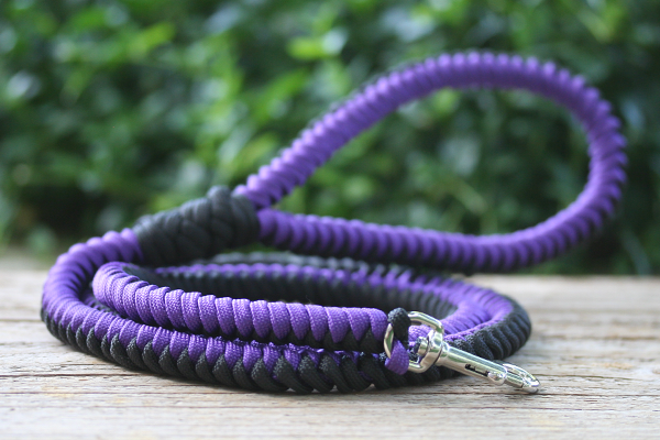 The paracord blog paracord a dog 39 s best friend for Paracord leash instructions