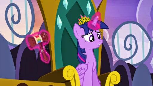 Twilight and Rainbow Gavel