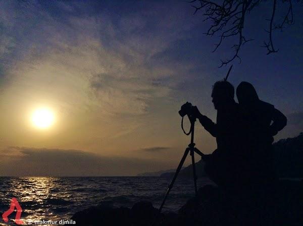 Merekam-Sunrise-Pantai-Deumit