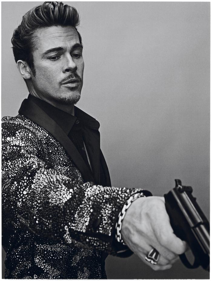 Interview Magazine - Brad Pitt by Steven Klein